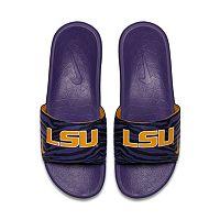 Men's Nike LSU Tigers Benassi Slide Sandals