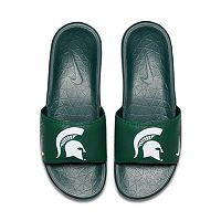 Men's Nike Michigan State Spartans Benassi Slide Sandals