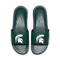 Men's Nike Michigan State Spartans Benassi Slide Sandals