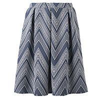 Women's Studio 253 Chevron Jacquard Skirt