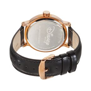 Disney's Mickey & Minnie Mouse Unisex Leather Watch
