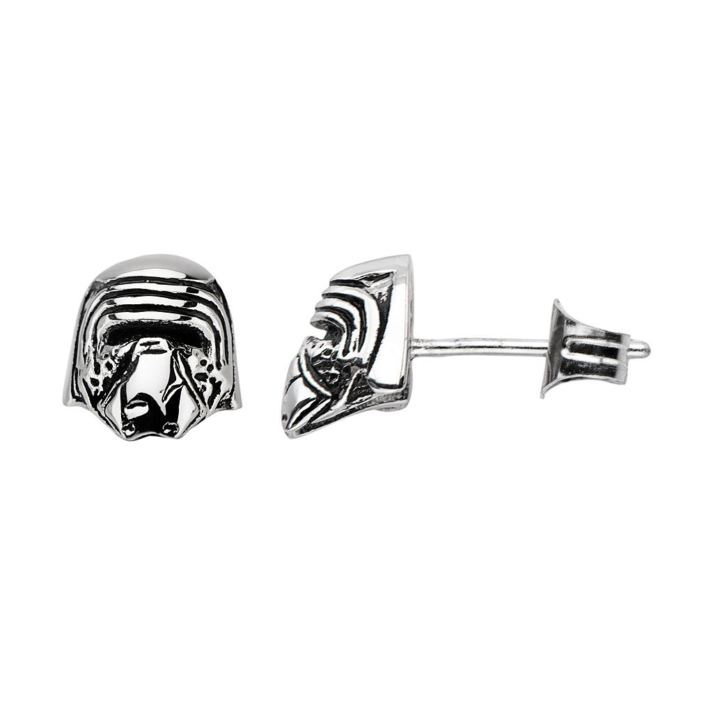Star Wars: Episode VII The Force Awakens Stainless Steel Kylo Ren Stud Earrings