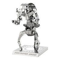 Metal Earth 3D Laser Cut Model Star Wars Destroyer Droid by Fascinations