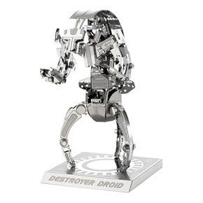 Metal Earth 3D Laser Cut Model Star Wars Destroyer Droid by Fascinations