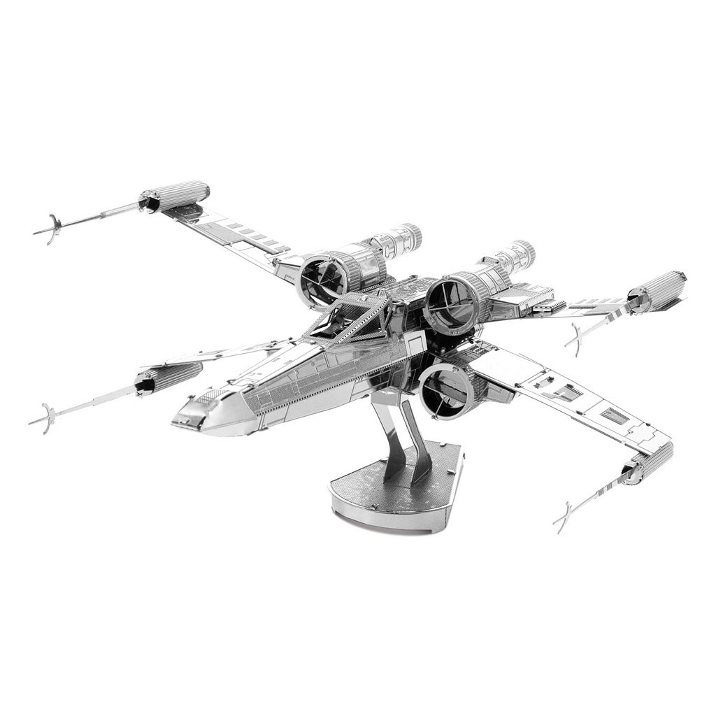 Metal Earth 3D Laser Cut Model Star Wars X-Wing Starfighter by Fascinations