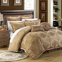 Como Jacquard 9 pc Bed Set