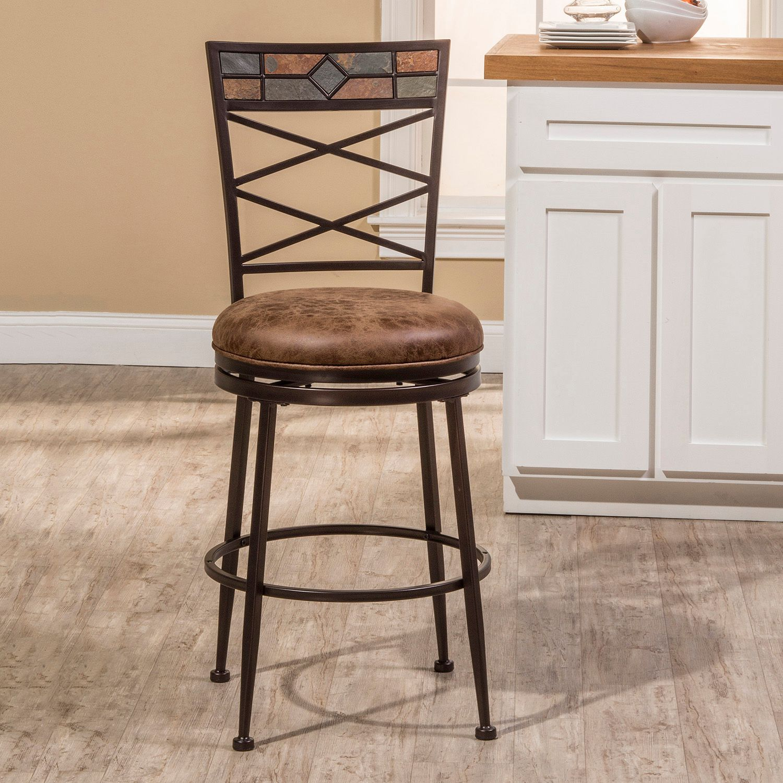hillsdale makala swivel counter stool