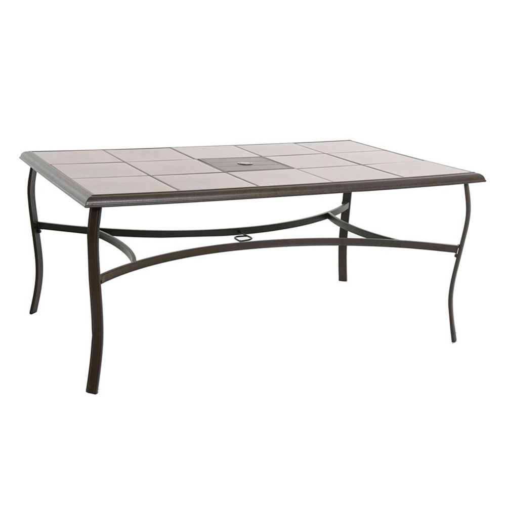 goods for life coronado rectangular patio table