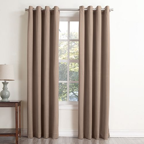 Sonoma Goods For Life Velvet Blackout Window Curtain
