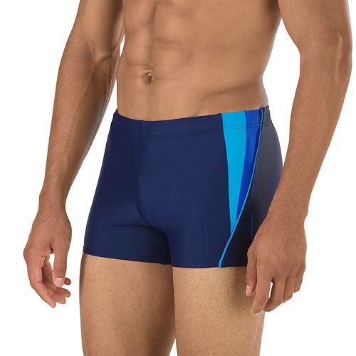 6bf4fe47ad Men s Speedo Fitness Splice Square Leg Swim Shorts