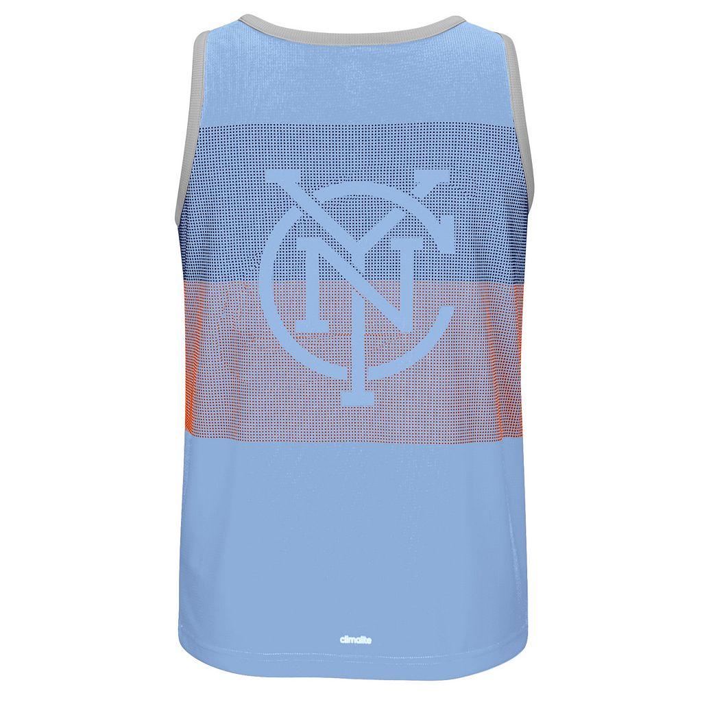 Men's adidas New York City FC Fan Wear clmalite Tank Top