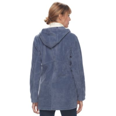 Women's Columbia Three Lakes Hooded Long Fleece Jacket