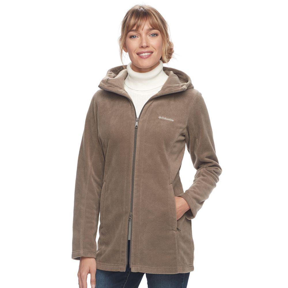 Columbia Three Lakes Hooded Long Fleece Jacket