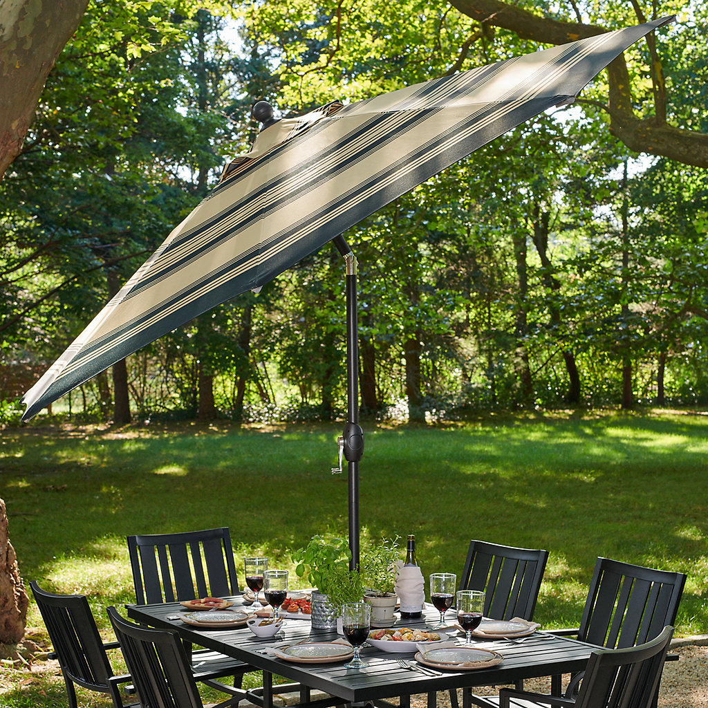 SONOMA Goods for Life™ 9-ft. Crank and Tilt Patio Umbrella