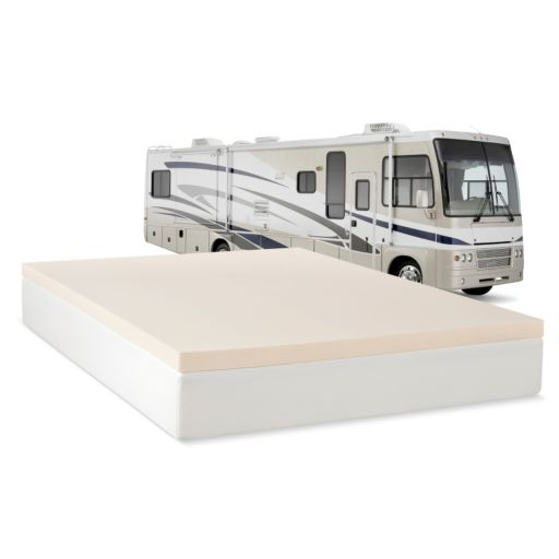 Cameo 2-inch 2.5 lb. Memory Foam RV Mattress Topper