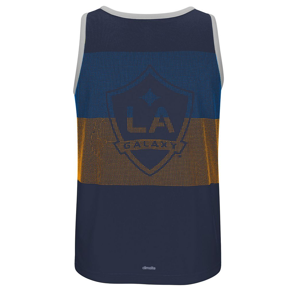 Men's adidas Los Angeles Galaxy Fan Wear clmalite Tank Top