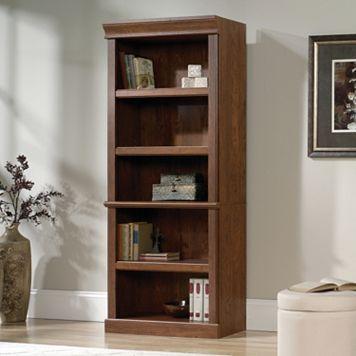 Orchard Hills Library 5-Shelf Bookshelf