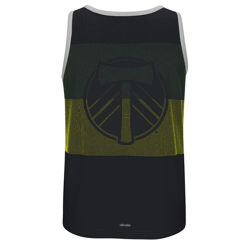 Men's adidas Portland Timbers Fan Wear clmalite Tank Top