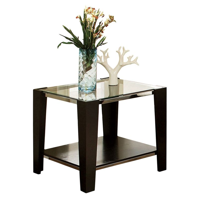 Newman End Table, Brown