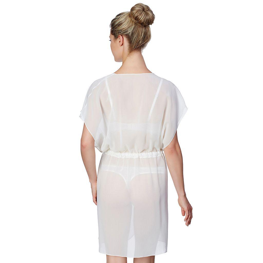 Montelle Intimates Bohemian Bridal Chiffon Robe 9252