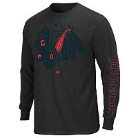 Big & Tall Majestic Chicago Blackhawks Pop Hit Tee