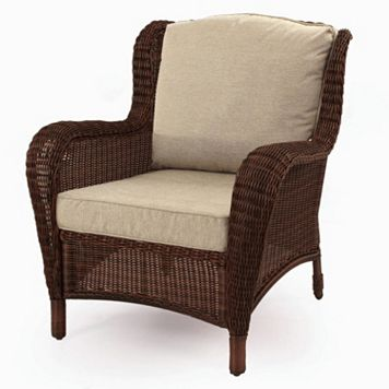 SONOMA Goods for Life™ Presidio Patio Wing Back Wicker Chair