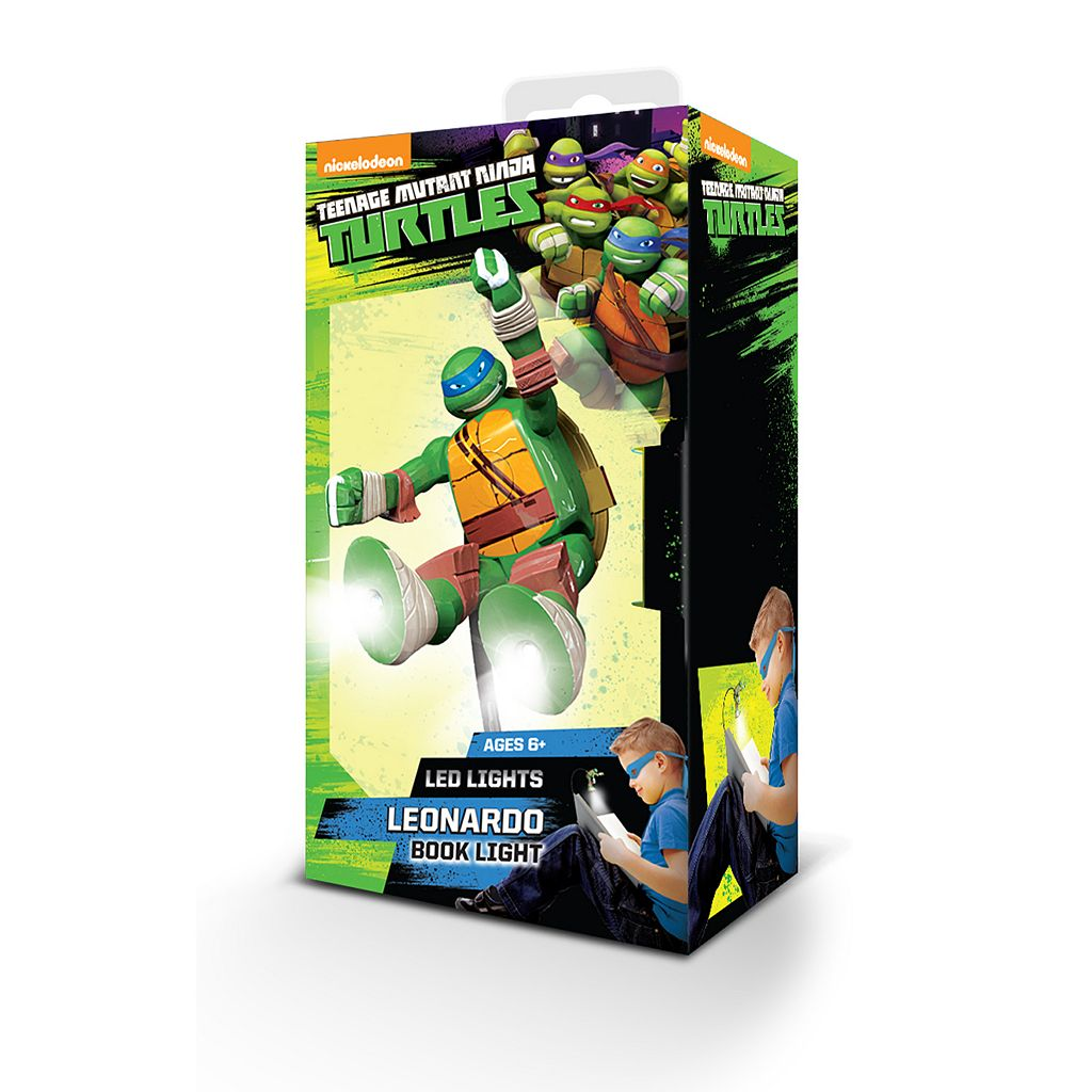 Teenage Mutant Ninja Turtles Leonardo Book Light