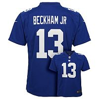 Boys 8-20 Nike New York Giants Odell Beckham Jr. Game NFL Replica Jersey