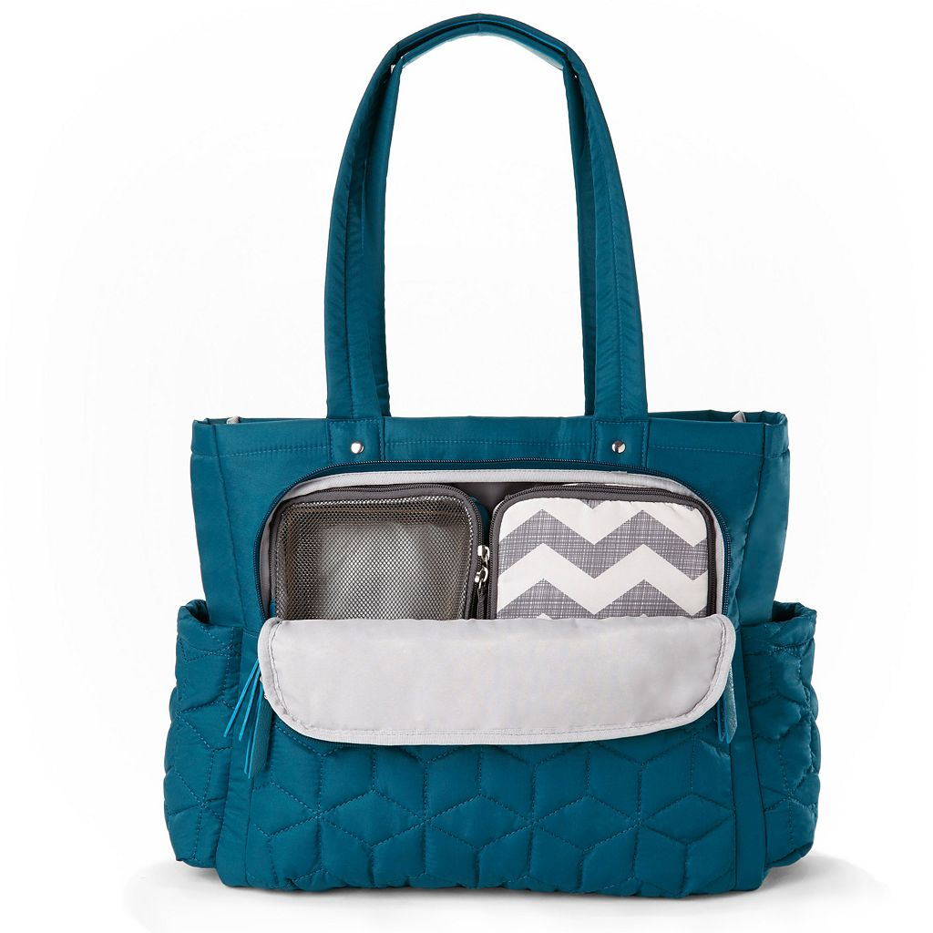 Skip Hop Forma Pack & Go Quilted Diaper Tote