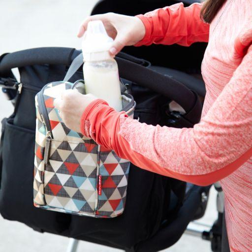 Skip Hop Grab & Go Insulated Double Bottle Bag