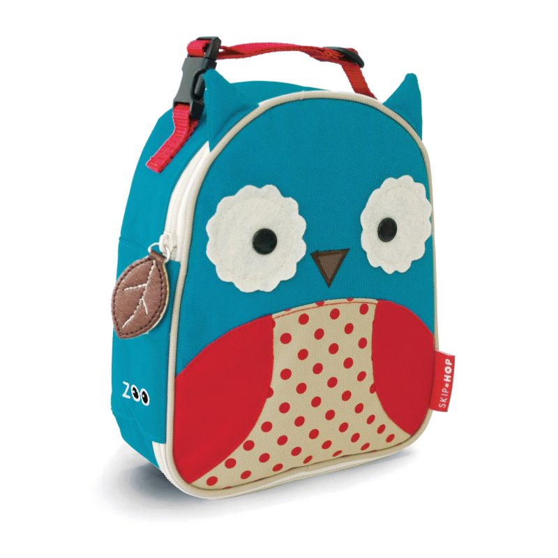 Skip Hop Zoo Lunchie Insulated Lunch Bag, Blue