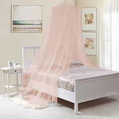Kids Collapsible Wire Hoop Bed Canopy