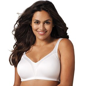 Playtex Bra: 18 Hour Back Smoother Full-Figure Wire-Free Bra 4E77