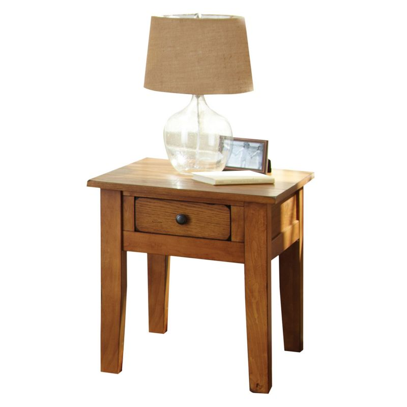 Liberty End Table, Brown