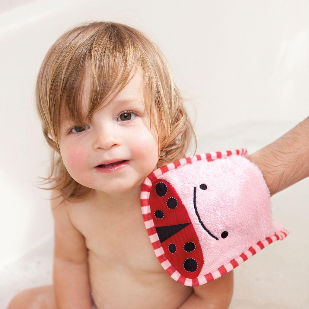 Skip Hop Zoo Toddler Hooded Towel & Mitt Set
