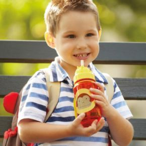 Skip Hop Zoo 12-ounce Straw Bottle
