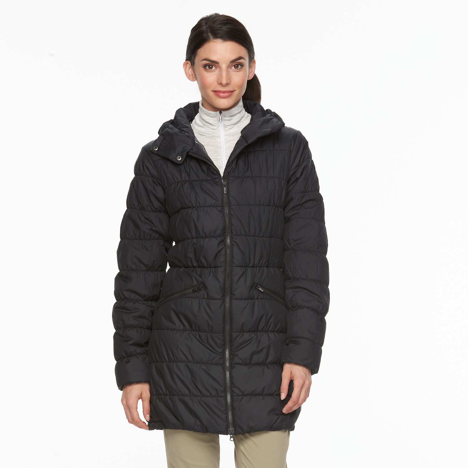 Womens Columbia Sparks Lake Thermal Coil Hooded Puffer Parka