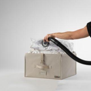 Compactor Fully Rigid Trunk Vacuum Storage System