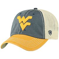 Adult Top of the World West Virginia Mountaineers Offroad Cap