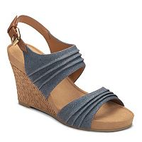 A2 by Aerosoles May Plush Women's Wedge Sandals