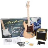 Archer SS10 Blues & Rock Jr. Electric Guitar Bundle