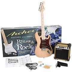 Archer SS10 Blues & Rock Jr. Electric Guitar Bundle
