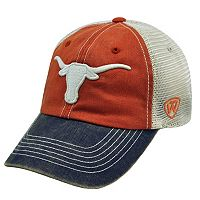 Adult Top of the World Texas Longhorns Offroad Cap