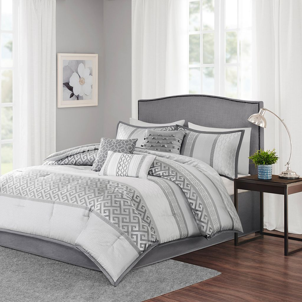 Madison Park Chandler 7-piece Bed Set