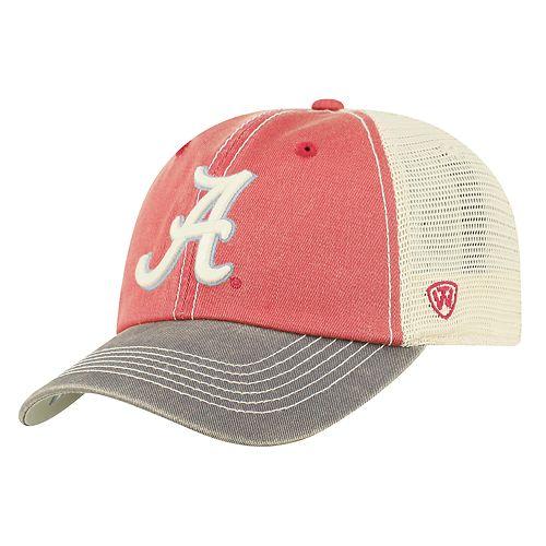 Adult Top of the World Alabama Crimson Tide Offroad Cap