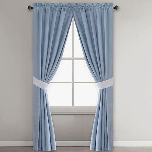 Harbor House 2-pack Crystal Beach Window Curtains - 42'' x 84''