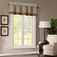 Madison Park Dune Window Valance - 50'' x 18''
