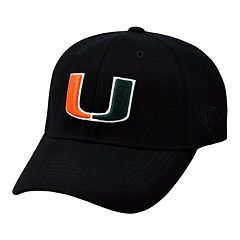 Adult Top of the World Miami Hurricanes Premium Collection One-Fit Cap