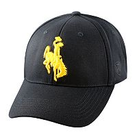 Adult Top of the World Wyoming Cowboys Premium Collection One-Fit Cap