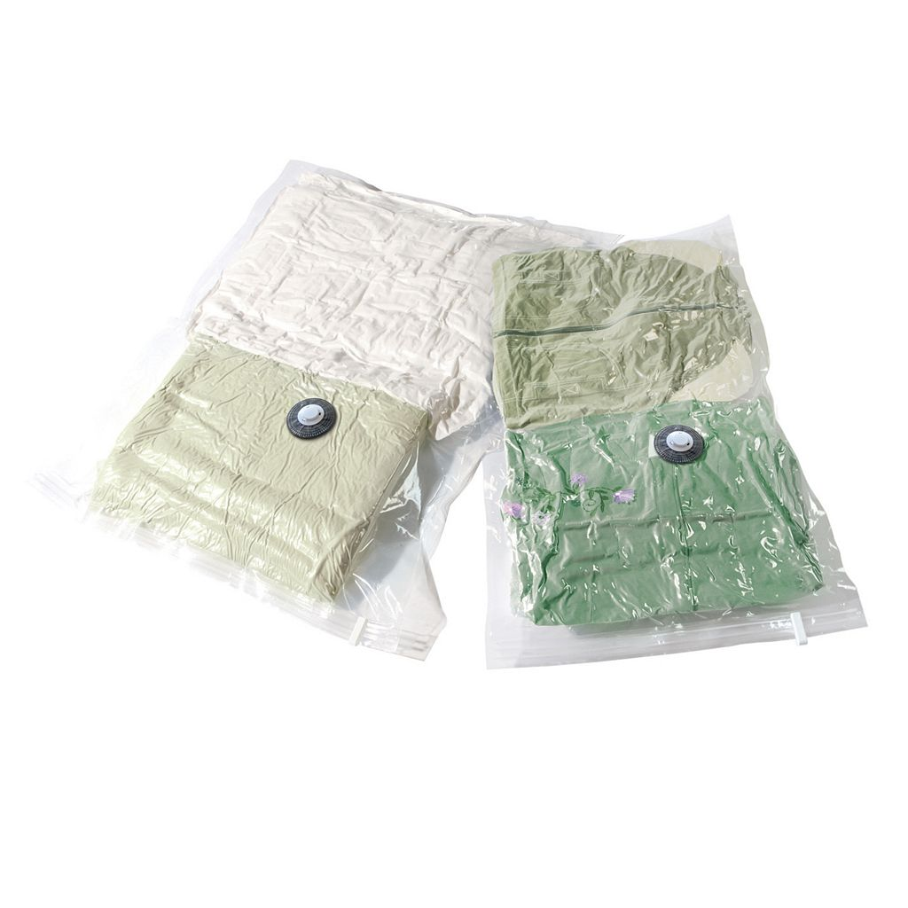 Compactor 2-pack Clear Vacuum Bags